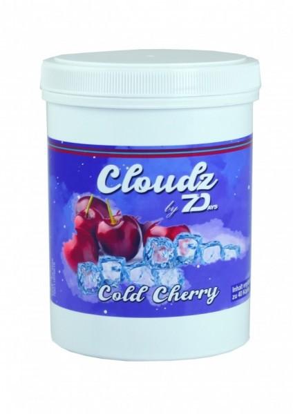 Cloudz by 7Days Dampfsteine - Cold Cherry - 500g
