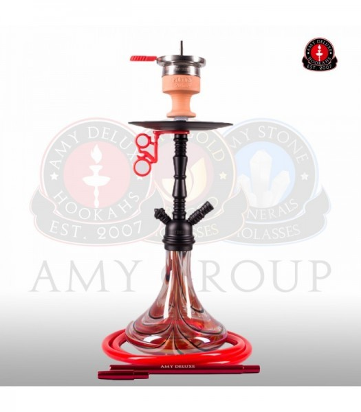 Amy Middle Zoom Rainbow - red - RS black powder