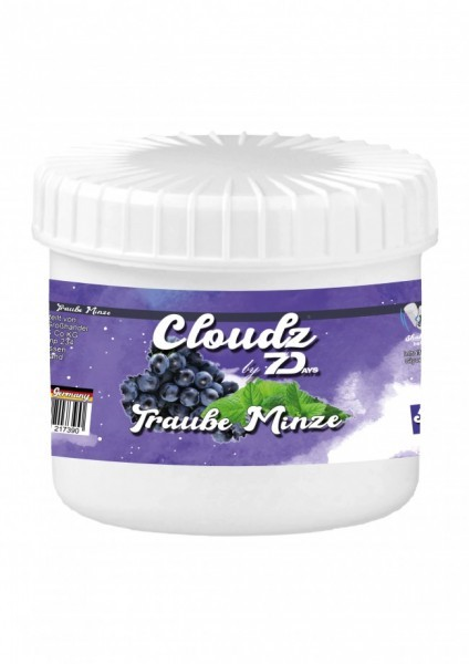 Cloudz by 7Days Dampfsteine - Traube Minze - 50g
