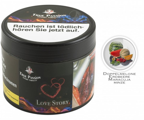 True Passion Tobacco 200g - Love Story