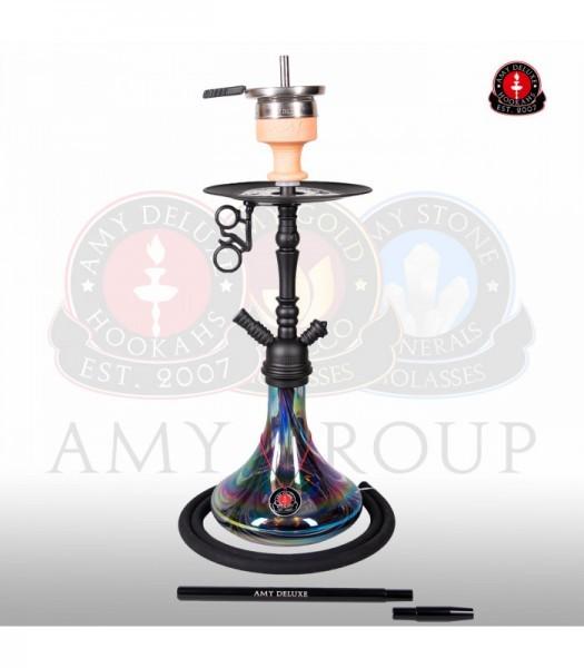 Amy Middle Globe Rainbow - black - RS black powder