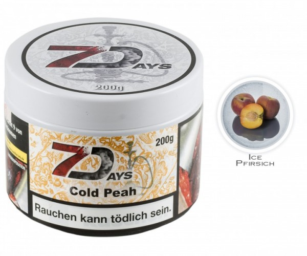 7Days Classic - Cold Peah (Dose 200g)