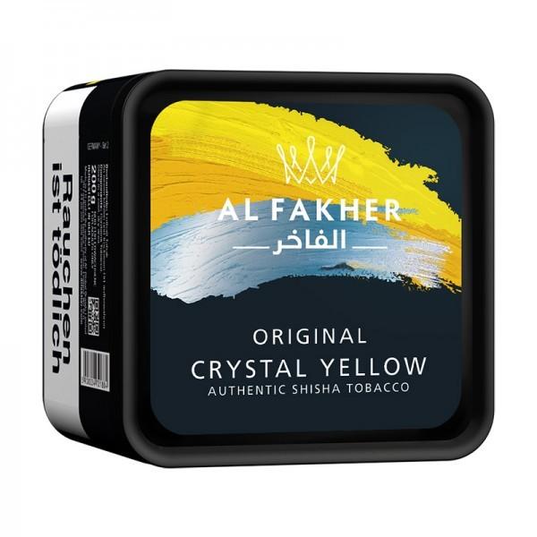 Al Fakher 200g Geschmack Crystal Yellow