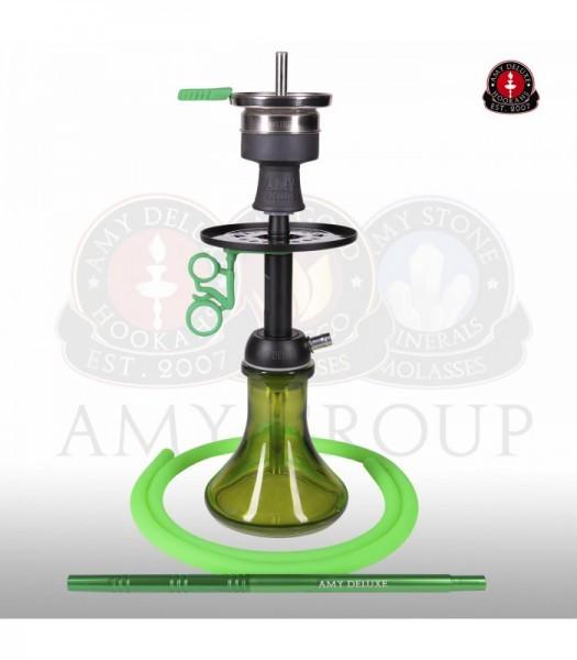 Amy Deluxe Alu Buzz Bag black green