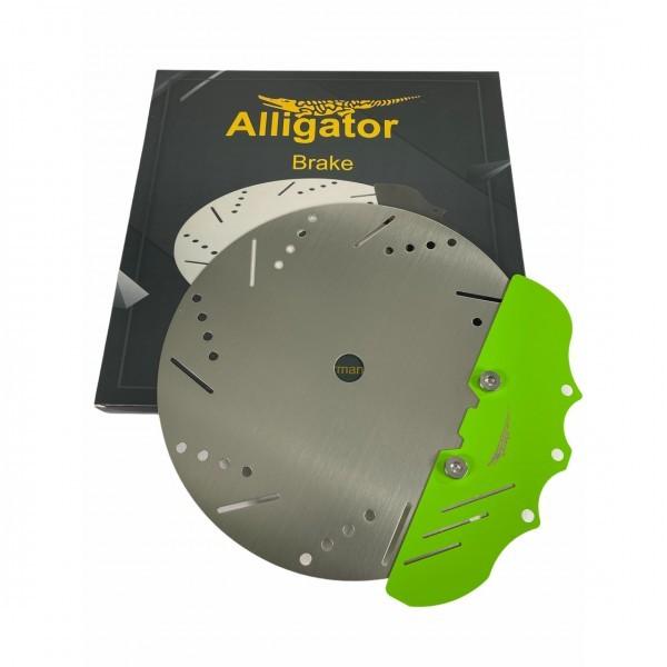Alligator Kohle Teller Brake Grn