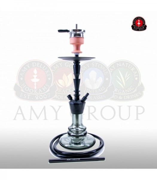 AMY Alu-X S 064 - black powder black