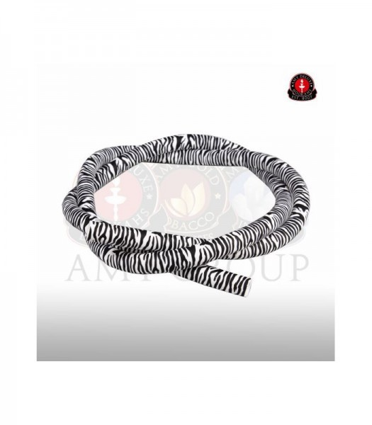 Amy Silikonschlauch mit Muster - zebra