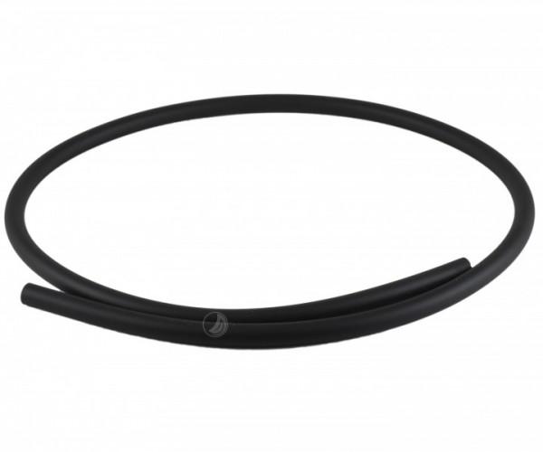 Silikonschlauch Soft-Touch - matt - schwarz
