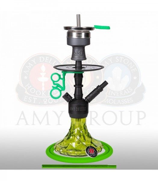 Amy Alu Brilli S 107.03 - black powder green