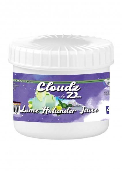 Cloudz by 7Days Dampfsteine - Lime Holunder Juice - 50g
