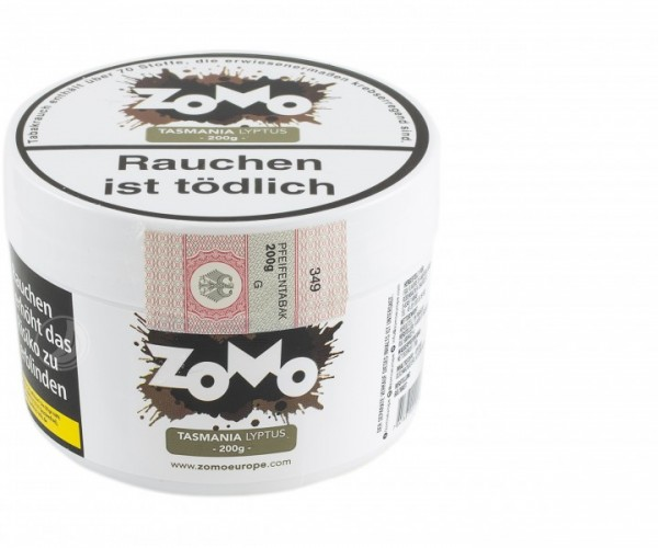 Zomo Tobacco 200g - Tasmania Lyptus