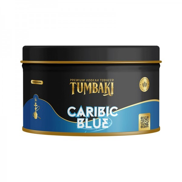 Tumbaki Tobacco 200g Caribic Blue