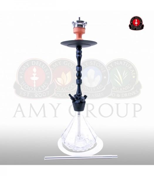 AMY Alu Diamond 063 - black powder clear