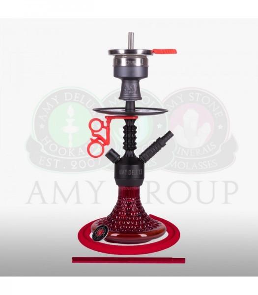 AMY Alu Antique Berry Mini 072.03 - black powder red