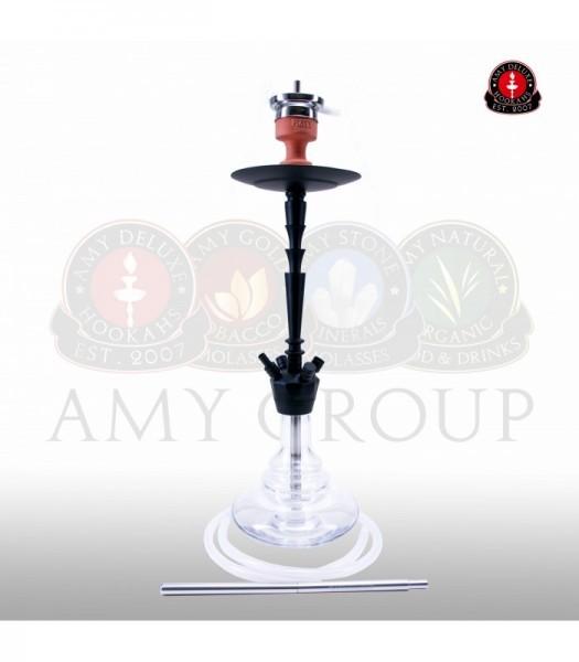 AMY Alu-X 065 - black powder clear