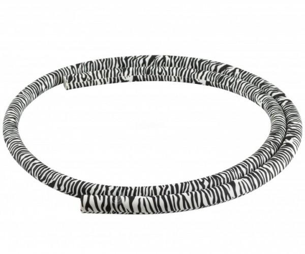 Silikonschlauch Soft-Touch (150 cm - zebra)