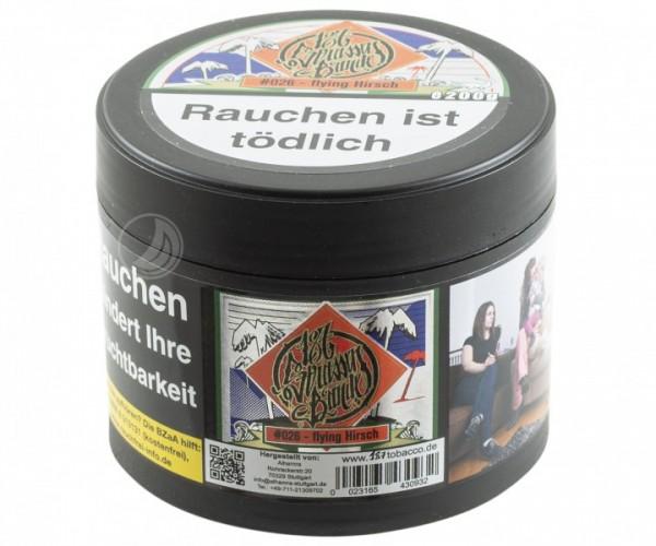 187 Strassenbande Tabak - Flying Hirsch #026 - 200g