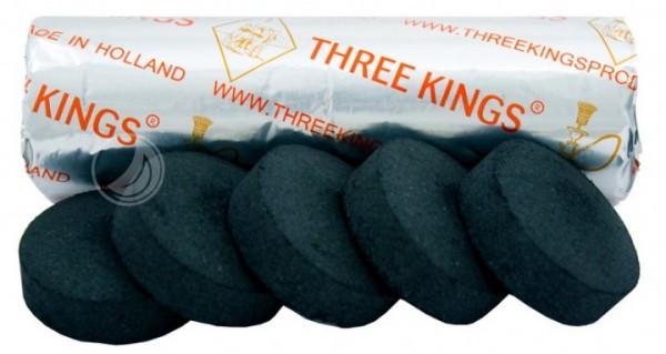 Three Kings Kohle - 40 mm - Rolle (10 Stück) - selbstzündend