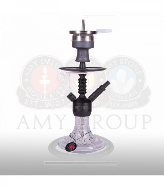 AMY Alu Antique Berry Mini 072.03 - black powder clear