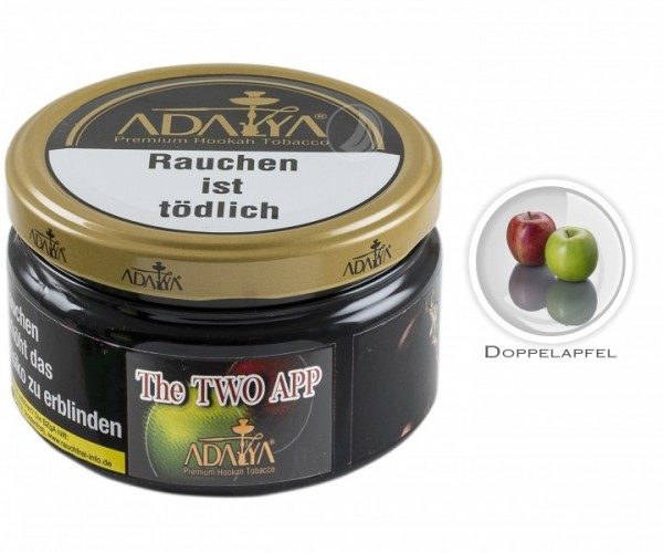 Adalya Tabak The Two App (Dose 200g)