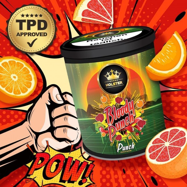 Holster Tobacco Bloody Punch 200g