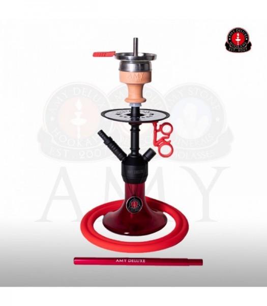 AMY Alu Jewel S 071.03 - black powder red