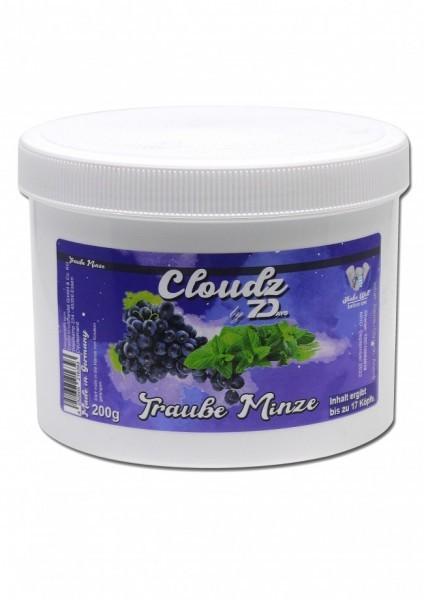 Cloudz by 7Days Dampfsteine - Traube Minze - 200g