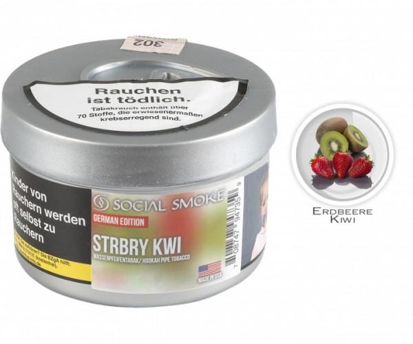 Social Smoke STRBRY KWI (Dose 250g)