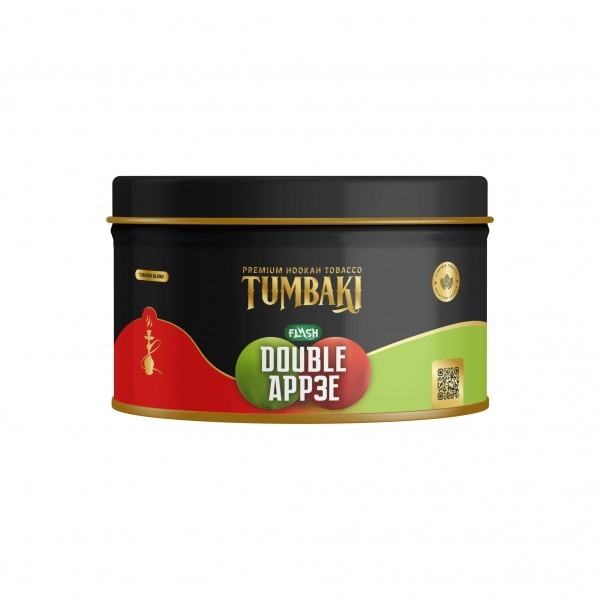 Tumbaki Tobacco 200g Double App3e Flash