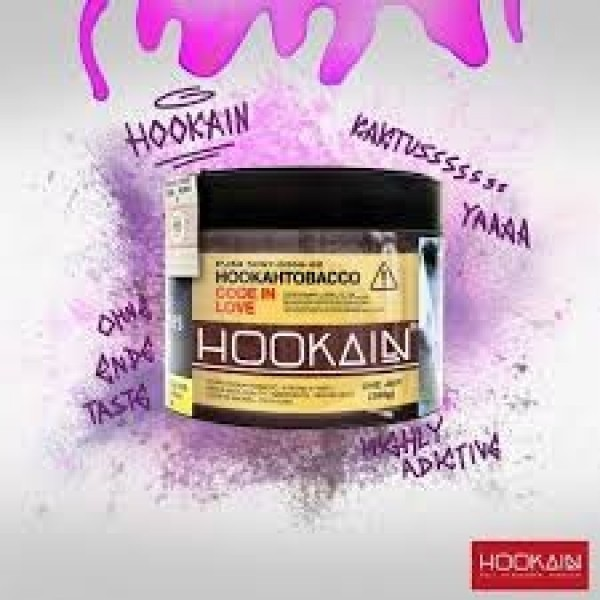 Hookain Tobacco - Code in Love - 200g