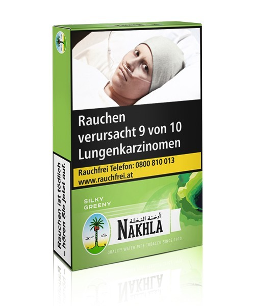 Nakhla Tabak Silky Greeny (200g)