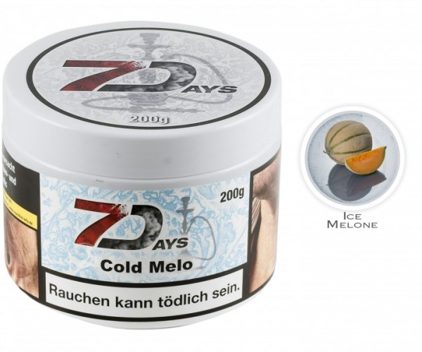 7Days Classic - Cold Melo (Dose 200g)