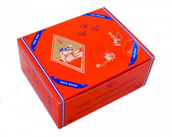 Three Kings Kohle - 33 mm - Box (100 Stück) - selbstzündend
