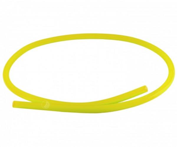Silikonschlauch Soft-Touch - matt - gelb