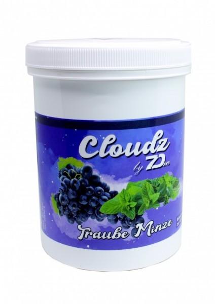 Cloudz by 7Days Dampfsteine - Traube Minze - 500g
