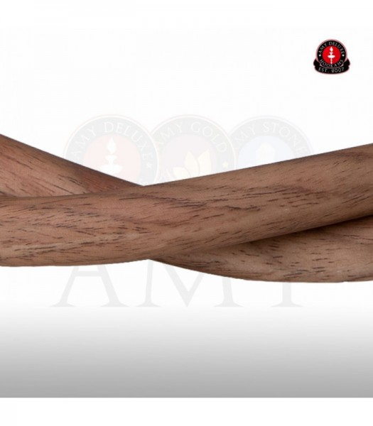 Amy Silikonschlauch mit Holzoptik - brown