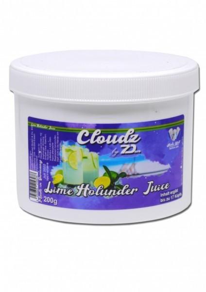 Cloudz by 7Days Dampfsteine - Lime Holunder Juice - 200g