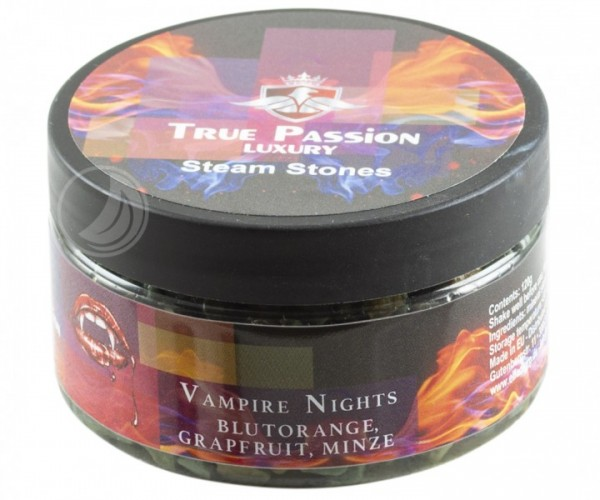True Passion Dampfsteine 120g - Vampire Nights